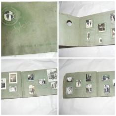 ALBUM VECHI FOTO ., POLYFOTO,, CU RUDELE SI PRIETENII MEI,, circa 100 poze, VANTU ALEXANDRU 1936-37,, multiple foto tinuta militara
