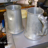 PERECHE HALBE ZINC - Metal/Fonta, Vase