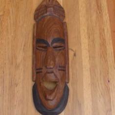 Sculptura in lemn .masca de perete nr35