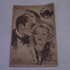 REVISTA CINEMA 21 ianuarie 1939 - Revista culturale