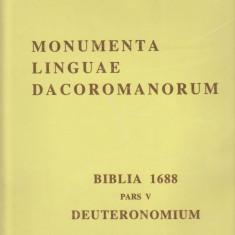 Biblia 1688,pars V,DEUTERONOMIUM