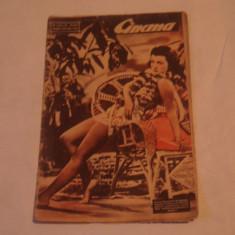 REVISTA CINEMA 8 iulie 1939 - Revista culturale