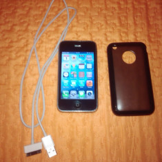 VAND URGENT iPhone 3Gs Apple 16 GB NEVERLOCKED, Negru, Neblocat