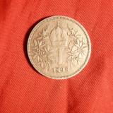Moneda 1 Kor.1898 Austria Fr.Josef, argint, cal.F.Buna