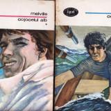 COJOCELUL ALB de HERMAN MELVILLE ( 2 VOLUME) - Roman, Anul publicarii: 1976