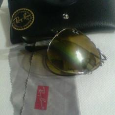 Ochelari Ray Ban ORIGINALI !!! - Ochelari de soare Ray Ban, Unisex, Maro, Protectie UV 100%