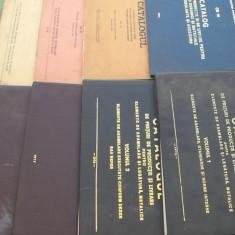 Catalog economic 11volume/electrice/izolatori/industria petroliera/transport/produse nefinite/miniera/asamblare/ambalaje/utilaje/panificatie