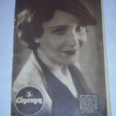 REVISTA CINEMA 4 decembrie 1937 - Revista culturale