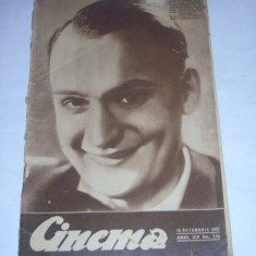 REVISTA CINEMA 16 octombrie 1937 - Revista culturale