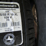 Vand 2 anvelope Continental ContoCrossContact UHP 255/55 R18 XL 109V FR noi, cu factura si garantie. - Anvelope vara Continental, V