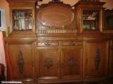 Mobila veche de sufragerie din lemn masiv, Altul, 1900 - 1949