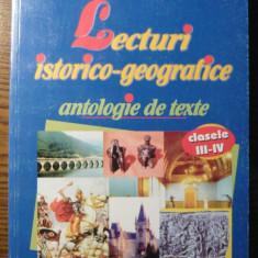 Carte - Lecturi istorico-geografice - antologie de texte - clasele III-IV - Manual scolar Aramis, Clasa 4, Aramis