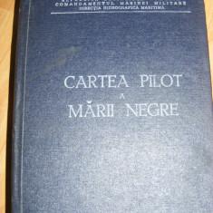 CARTEA PILOT A MARII NEGRE ,COMANDAMENTUL MARINEI MILITARE ,DIRECTIA HIDROGRAFICA MARITIMA,1981,Rep. Socialista Romania,CARTE MILITARA MARINAREASCA