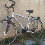 Bicicleta Winora Bermuda - Bicicleta de oras Nespecificat, 28 inch, Numar viteze: 27, Aluminiu, Negru-Gri, V-brake