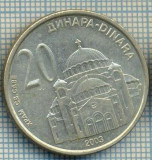 2245 MONEDA  - SERBIA - 20 DINARA - anul 2003 -starea care se vede