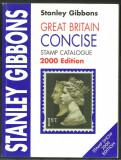 ANGLIA 2000 - CATALOG FILATELIC STANLEY GIBBONS, HARTIE VELINA, ALB-NEGRU