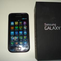 Vand samsung galaxy s - Telefon mobil Samsung Galaxy S, Negru, 8GB, Neblocat