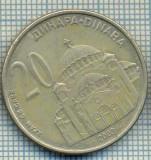 2244 MONEDA  - SERBIA - 20 DINARA - anul 2003 -starea care se vede