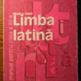 Carte - Monica Duna - Limba latina - manual pentru clasa a XII-a - Manual scolar humanitas, Clasa 12, Humanitas