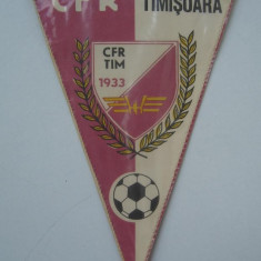 Fanion de colectie CFR TIMISOARA 1933