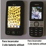 VAND SAU SCHIMB LG KP 500 + NOKIA 2690 - Telefon LG, Negru, 2GB, Neblocat, Smartphone, Touchscreen