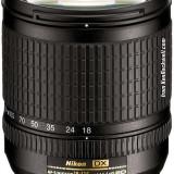 Obiectiv foto Nikon AF-S DX Zoom-Nikkor 18-135mm f/3.5-5.6G IF-ED (7.5x) + Filtre B+W (UV+Polarizare) - Obiectiv DSLR Nikkor, Standard, Autofocus, Nikon FX/DX