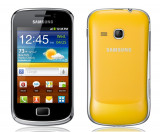 Vand Galaxy mini 2 S6500, 4GB, Galben, Neblocat, Samsung