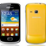 Vand Galaxy mini 2 S6500 - Telefon mobil Samsung Galaxy Mini 2, Galben, Neblocat