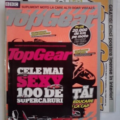 3 suplimente TOP GEAR, postere... - Revista auto
