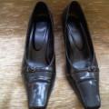 Pantofi negri mas.38