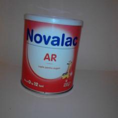 Novalac AR 0-12luni pentru combaterea regurgitatiilor / refluxului - Lapte praf bebelusi Novalac, De la 0 luni