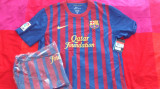 Tricou original NIKE FC Barcelona home jersey, 100% originale, XL, Maneca scurta, Bleumarin