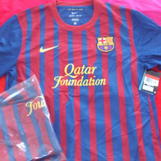 Tricou original NIKE FC Barcelona home jersey, 100% originale - Tricou barbati Nike, Marime: XL, Culoare: Bleumarin, Maneca scurta, Poliester