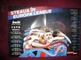 Poster -Steaua -Europa League ,grupa K