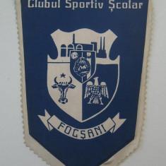 fanion de colectie CLUBUL SPORTIV SCOLAR FOCSANI  (Jud.Vrancea)