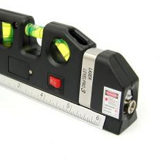 Nivela Boloboc LevelPro 03 cu Laser si Ruleta de 2, 5m