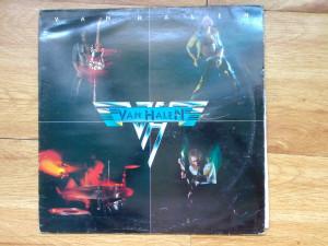 VAN HALEN - VAN HALEN ( 1978, Warner Bros/WEA,Made in UK) vinil vinyl