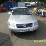 Dezmembram Volkswagen Passat 2004 130cp SERIE MOTOR AWX 2000-2005