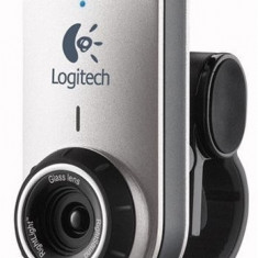 Webcam Logitech QuickCam Deluxe for Notebooks, 1.3 Mpx- 2.4 Mpx, CCD, Microfon