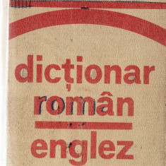 DICTIONAR ROMAN-ENGLEZ de IRINA PANOVF