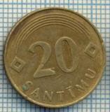2368 MONEDA  - LETONIA - 20 SANTIMU - anul 1992 -starea care se vede