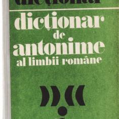DICTIONAR DE ANTONIME AL LIMBII ROMANE de MARIN BUCA si ONUFRIE VINTELER - Enciclopedie