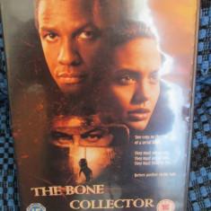 THE BONE COLLECTOR - film DVD (original din Anglia, in stare impecabila!!!)