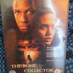 THE BONE COLLECTOR - film DVD (original din Anglia, in stare impecabila!!!) - Film Colectie, Engleza