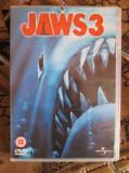 JAWS 3 - film HORROR DVD (original din Anglia, in stare impecabila!!!)