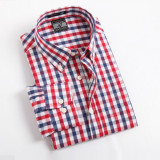Camasa barbateasca U&Shart / Masura 43-44 (XL)/ Maneca lunga /100% bbc/ 4 culori, Multicolor