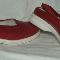 Pantofi BENETTON - nr 28 - Pantofi copii Benetton, Fete, Rosu