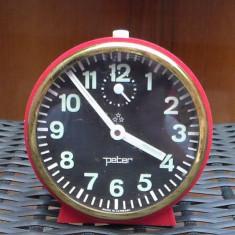 Ceas desteptator mecanic PETER made in Germany