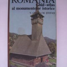 V. Cucu, M. Stefan - Romania, ghid atlas al monumentelor istorice (1974) - Carte Geografie