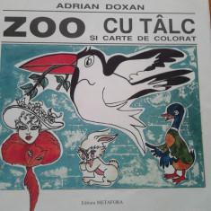 ZOO CU TALC - Adrian Doxan - Carte poezie copii